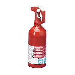 Mild Steel ABC Dry Powder Type Cylindrical Portable Car Fire Extinguisher, Capacity: 5 Kg