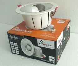 Midas 'Signature' Lens Based COB LED Downlight Round- 20W