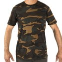 Decathlon SG-100 2XL Camo Green Men T-Shirt