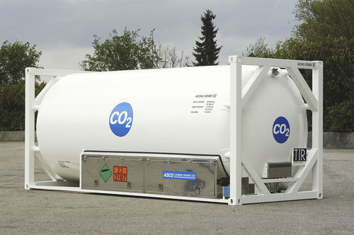 Liquid Co2 Storage Tank, Capacity: 500-1000 liter