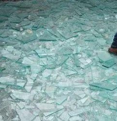 White Sheet Glass Cullet Scrap