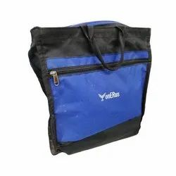 Onerus Black, Blue Nylon Durable Carry Bags, Bag Size: 12x2x10 Inch