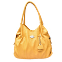 Al Jazeera Ladies Yellow Shoulder Bag