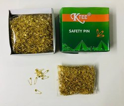 Ktee Golden Safety Pin