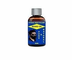 Vitara Healthcare Beard Growth Oil For Long Beard and Mustache 40ml