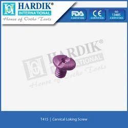 Cervical Locking Screw