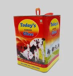 5 Ltr Tin Pure Cow Ghee