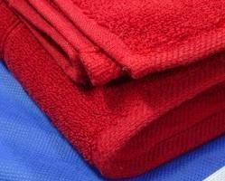 Bath Towel Red Colour