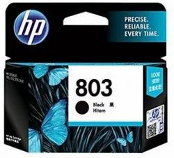 HP 803 Single Black Ink Cartridge