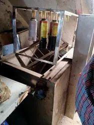 Stainless Steel Leakage Testing Aerosol cans Machine