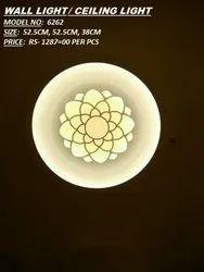 Warm White Metal Decorative LED Wall Light