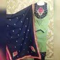 Chanderi Hand Work Suits W-693