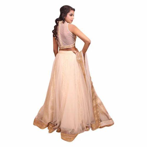 1f93c99383 Party Wear Shimmer Net Lehenga Choli, Rs 8995 /piece, Kadambari | ID ...