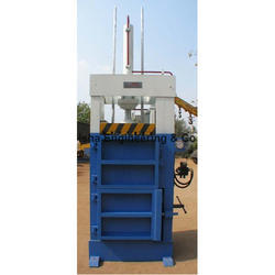 Vertical PET Bottle Baling Press