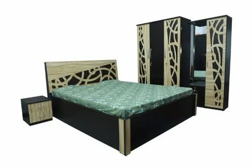 Oorgowood Cherry Wood Wooden Bedroom Set Size Cal King Warranty 1 Year Rs 35000 Set Id 21549514662