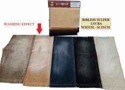 Ribless Sulfer Lycra Fabrics
