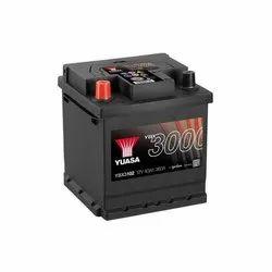 Yuasa SMF Battery, Model No: YBX3012, 12V