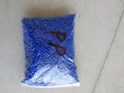 Plastic Blue Granules