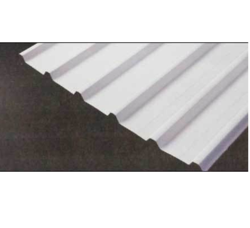 LCP White Metal Roofing Sheets
