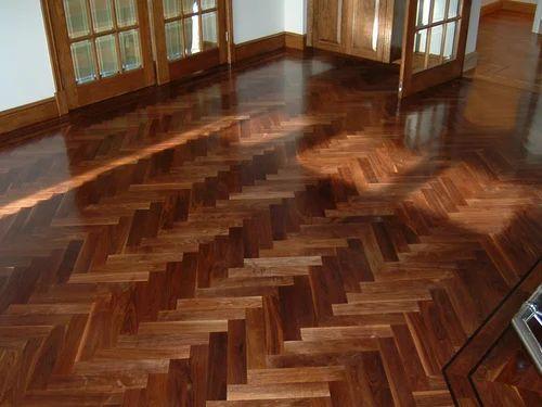 Dvk Fortune Dark Brown Parquet Flooring