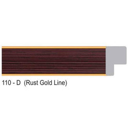 110-D Series Rust Gold Line Photo Frame Molding