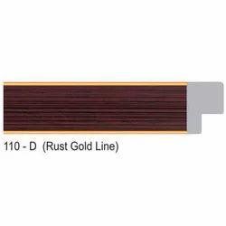 110-D Series Rust Gold Line Photo Frame Molding