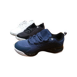 01f770751fa3 Appear Black and Navy Blue Mens Sport Mesh Shoes