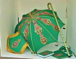 Kasi Yatra Set Wedding Umbrella Set