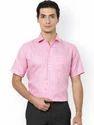 Mens Pink Formal Shirts