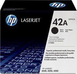 HP Q5942A 42A Black Toner Cartridge