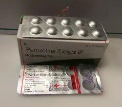 Paroxetine 20 mg Tablets(RADOXETINE 20)
