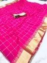 LIGALZ Presenting Uppada Checks Saree New Catalog