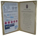 Adora A4 Certificate Holder