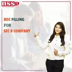 ROC Filling for Sec 8 Company