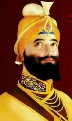 Guru Gobind Singh Ji Marble Statue
