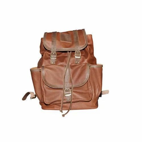 SLC-BP-02 Leather Backpack