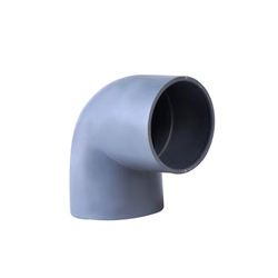 KAMNATH 20mm to 75mm PVC Elbow (HW), For Structure Pipe, Shape: Equal