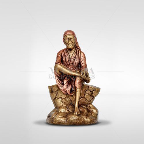 Brass Sai Baba Idol