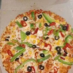 Fresh Basic Indian Pizza