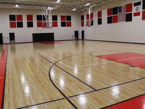 Acrylic Flooring Indoor Basketball Court Flooring Service India Rs 50 Square Feet Id 19822341412