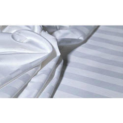 White Satin Strip 210 Tc  Sheets