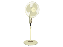 Mojo High Speed Pedestal Fan (Luminous)