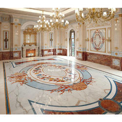 Marble Inlay Flooring Services