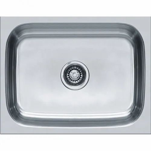 Single Stainless Steel Top Mount Kitchen Sink Size 12 Inch Rs 850