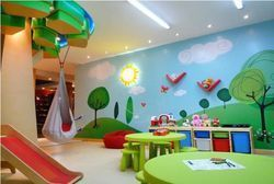 Stainless Steel Play Group Interior Designing Services