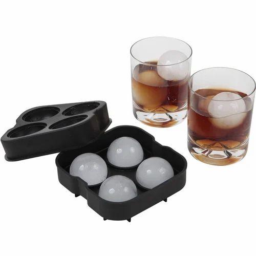 9a73cf93657e6 Ice Ball Maker Mold - 4 Whiskey Ice Balls -Premium