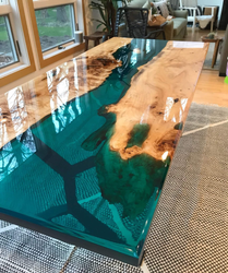 Rectangular Epoxy Table Tops
