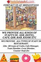 Cafe Staffing Service