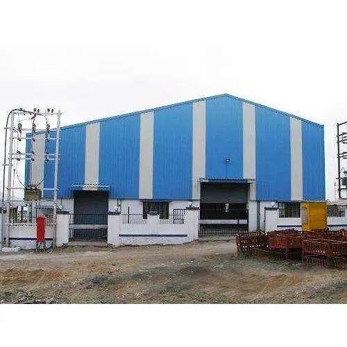 Steel Prefab Factory Shed