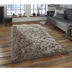 Grey Acrylic And PP Living Room Rugs, Size: 80/150 And 120/170 cm